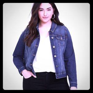Torrid long sleeve denim jacket